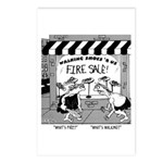 What's Fire? What's Walking Postcards (Package of