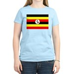 Uganda Flag Women's Light T-Shirt