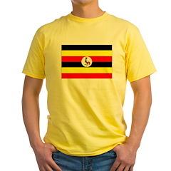 Uganda Flag T