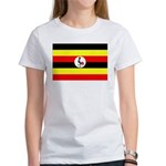 Uganda Flag Women's T-Shirt