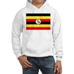 Uganda Flag Hooded Sweatshirt