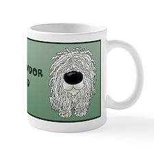 Big Nose Komondor Dad Mug
