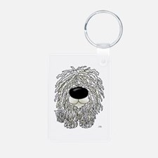 Big Nose Komondor Keychains