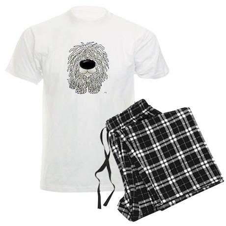 Big Nose Komondor Men's Light Pajamas