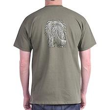 Big Nose Komondor T-Shirt