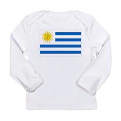 Uruguay Flag Long Sleeve Infant T-Shirt