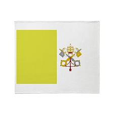 Vatican City Flag Throw Blanket