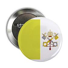 "Vatican City Flag 2.25"" Button (10 pack)"