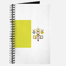 Vatican City Flag Journal
