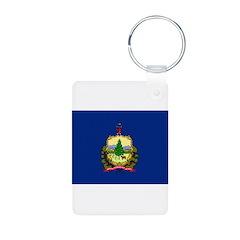 Vermont Flag Keychains