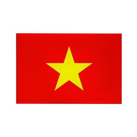 Vietnam Flag Rectangle Magnet (10 pack)