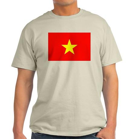 Vietnam Flag Light T-Shirt