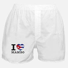 I love Mambo Boxer Shorts