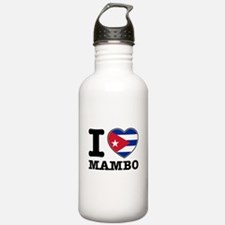 I love Mambo Water Bottle