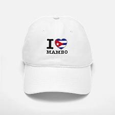 I love Mambo Baseball Baseball Cap