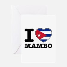 I love Mambo Greeting Card