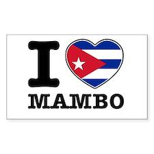 I love Mambo Decal