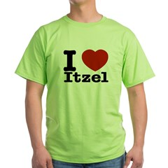 I love Itzel Green T-Shirt