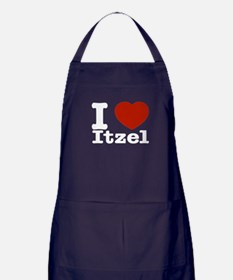 I love Itzel Apron (dark)