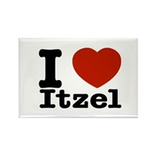 I love Itzel Rectangle Magnet