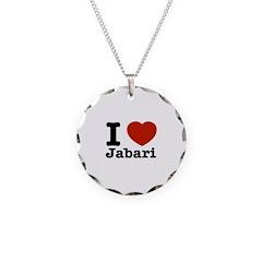 I love Jabari Necklace