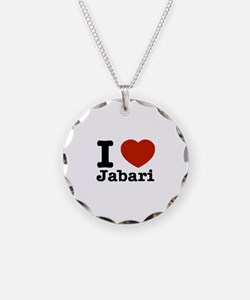 I love Jabari Necklace