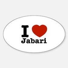 I love Jabari Decal
