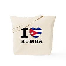 I love Rumba Tote Bag