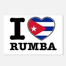 I love Rumba Postcards (Package of 8)