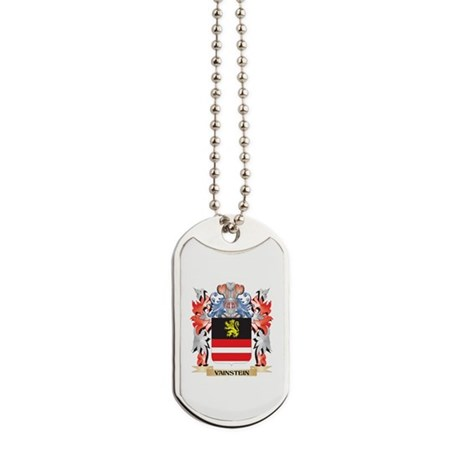 Vainstein Coat of Arms - Family Crest Dog Tags