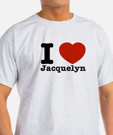 I love Jacquelyn T-Shirt