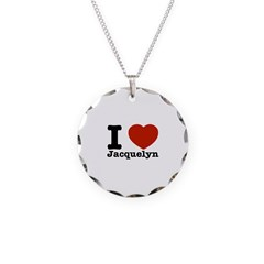 I love Jacquelyn Necklace