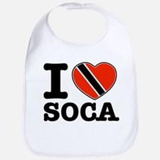 I love Soca Bib