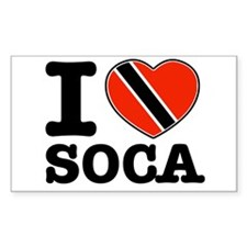 I love Soca Decal