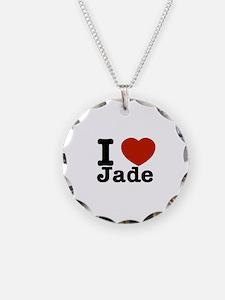 I love Jade Necklace