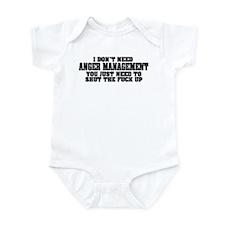 Anger Management Infant Bodysuit