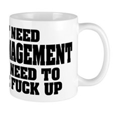 Anger Management Small Mug