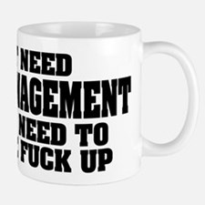 Anger Management Small Small Mug