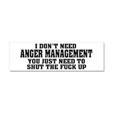 Anger Management Car Magnet 10 x 3