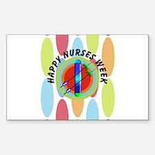 Nurse Week May 6th Decal