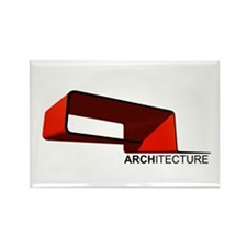 Architecture Rectangle Magnet