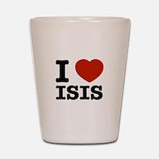 I love Isis Shot Glass