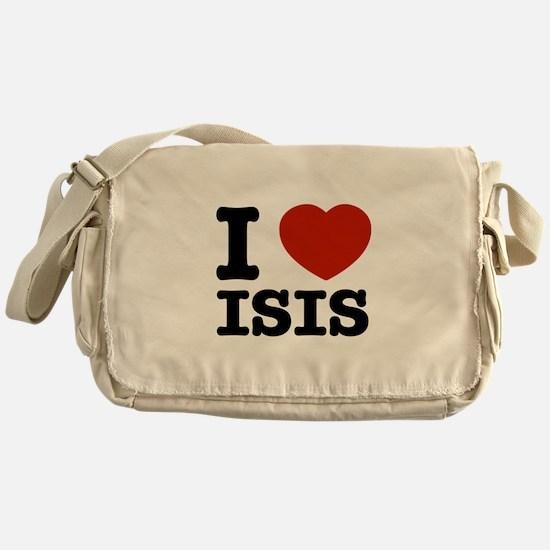 I love Isis Messenger Bag