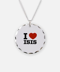 I love Isis Necklace