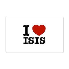 I love Isis 22x14 Wall Peel