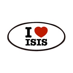 I love Isis Patches