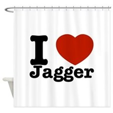 I love Jagger Shower Curtain