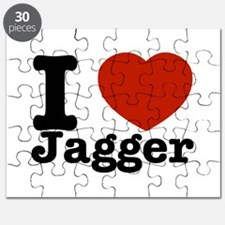 I love Jagger Puzzle