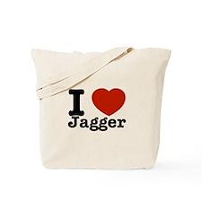 I love Jagger Tote Bag
