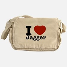 I love Jagger Messenger Bag